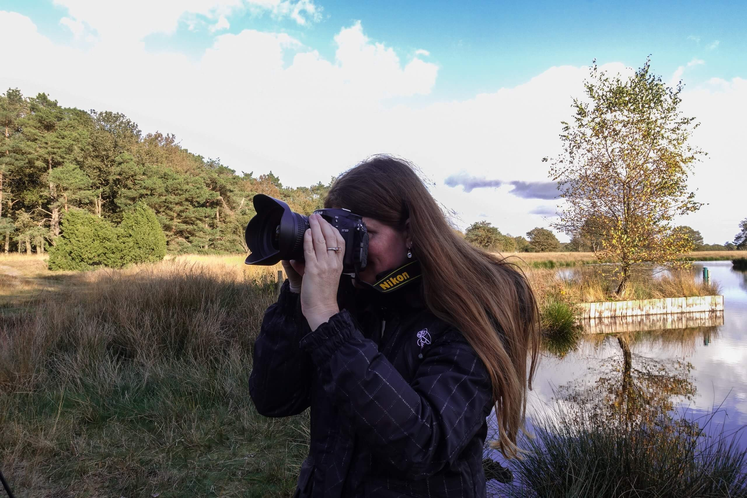 Door mijn lens fotografeer ik het Dwingelderveld