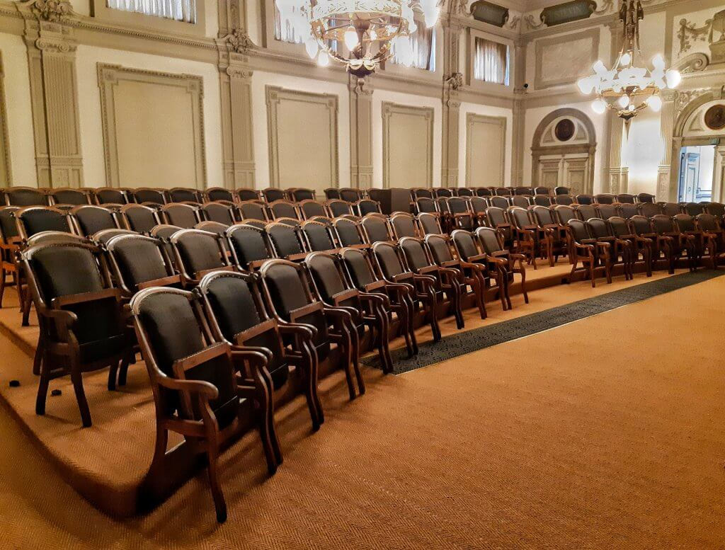 Auditorium voor events in Teylers Museum Haarlem