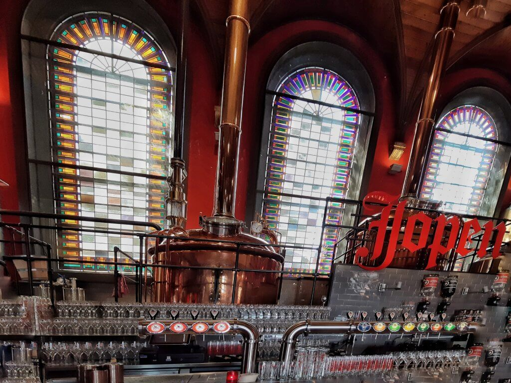 Bar Brewery Jopenkerk in Haarlem