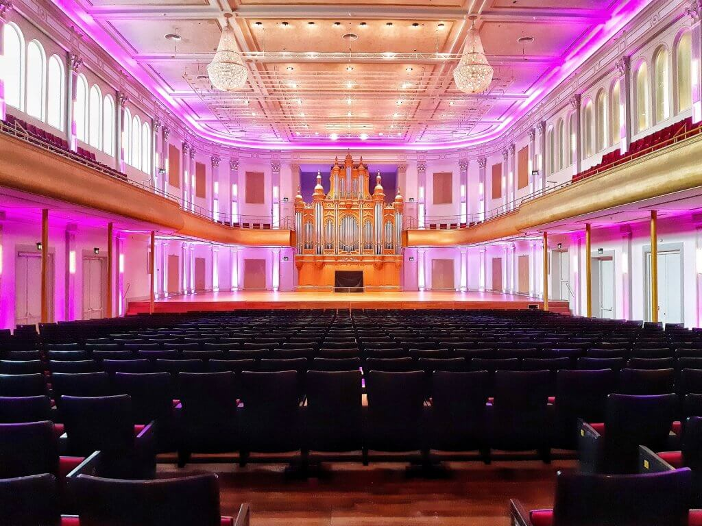 Grand room Philharmonie in Haarlem