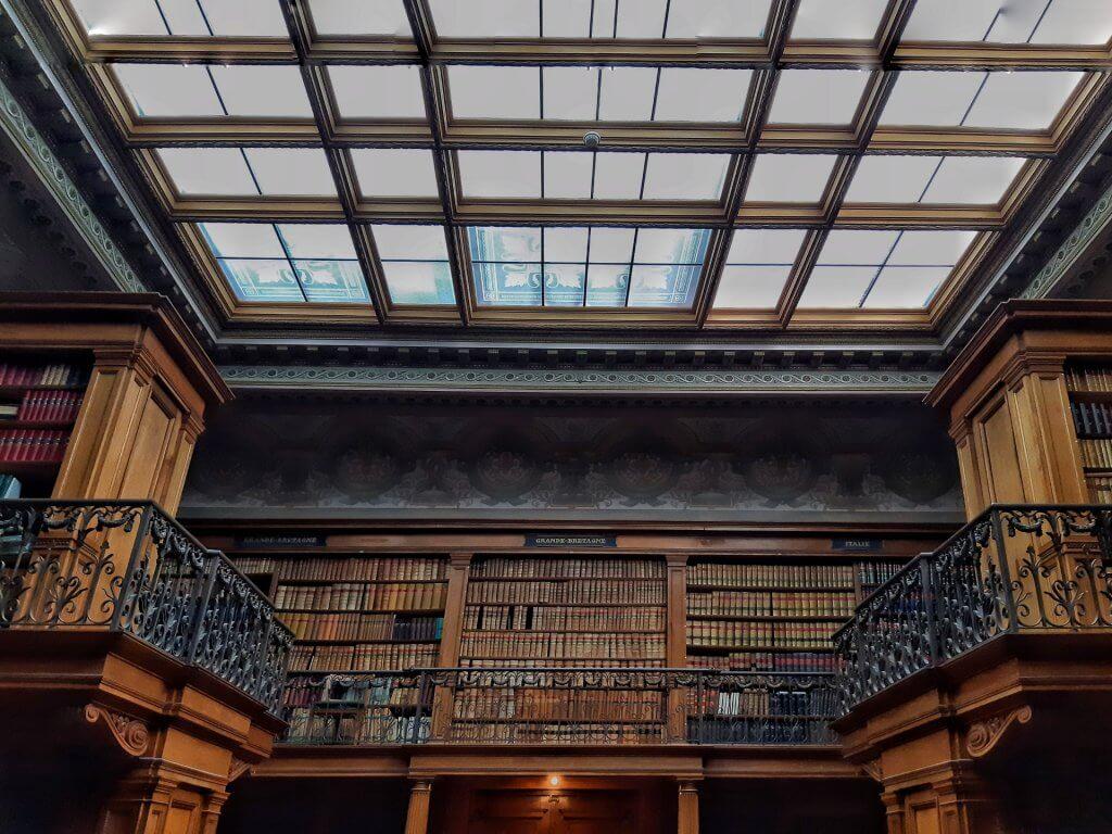 Library Teylers Museum in Haarlem