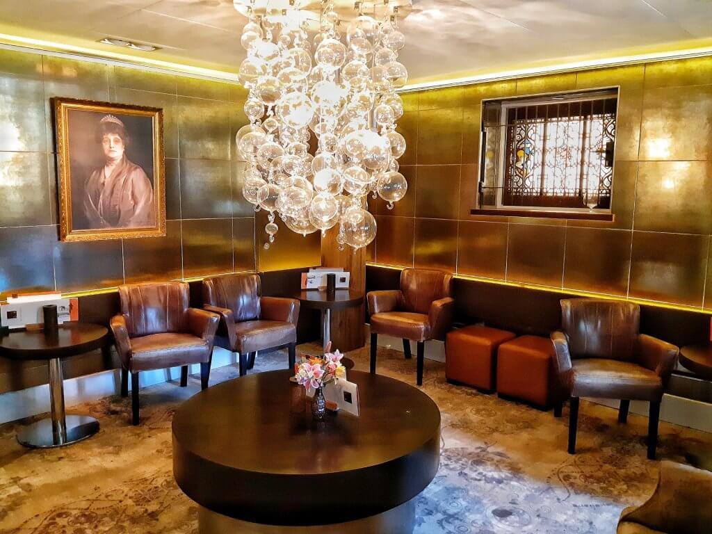 Lounge ruimte mw. Cremer in Landgoed Duin & Kruidberg