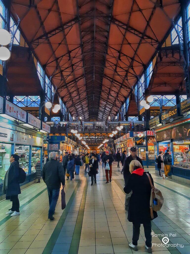Markthal in Boedapest