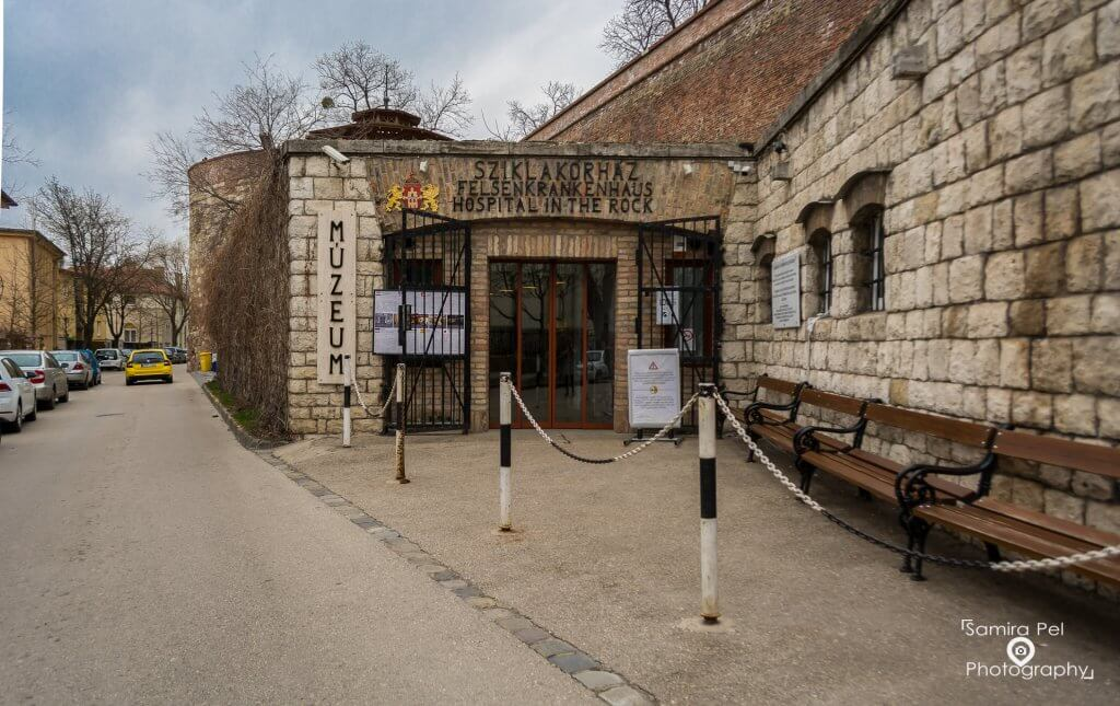 Museum Hospital in the rock in Budapest