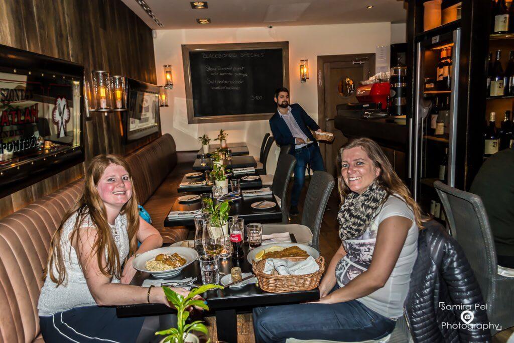 Dinner at Restaurant 21 Maygar Vendéglö in Budapest