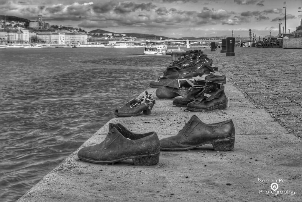 Jewish shoes on the Donaukade in Budapest