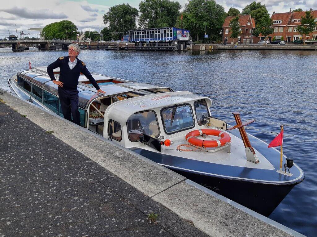 Met Smidtje Canal Cruises varen in Haarlem