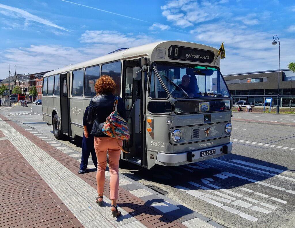 Stadsbus Leyland-Verheul uit 1965