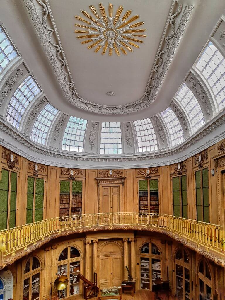 Dome in Teylers Museum in Haarlem