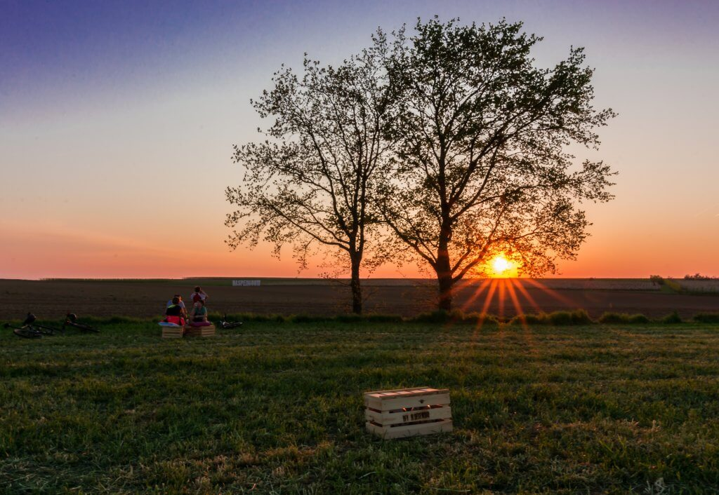 Sunset at BFV Bloesembar in Velm_2