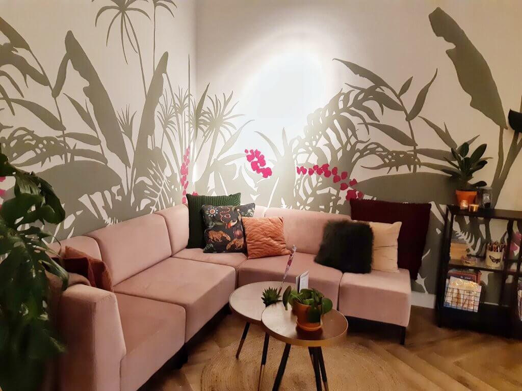 Lounge at Palkinto Lunchroom in Voorburg