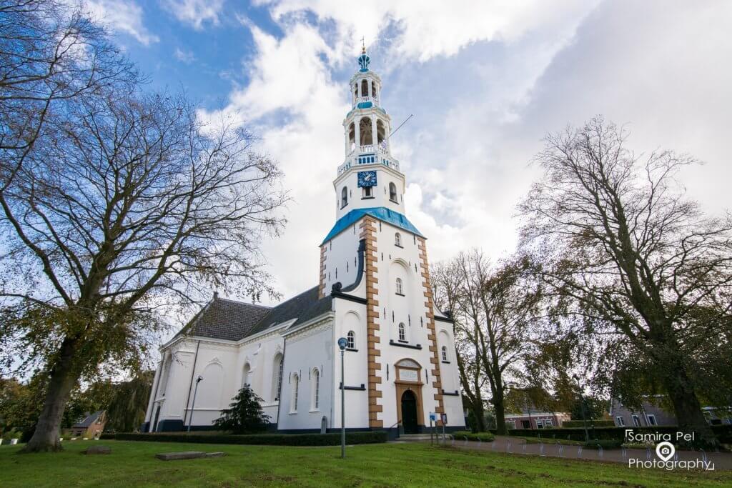 Maria church in Uithuizermeeden