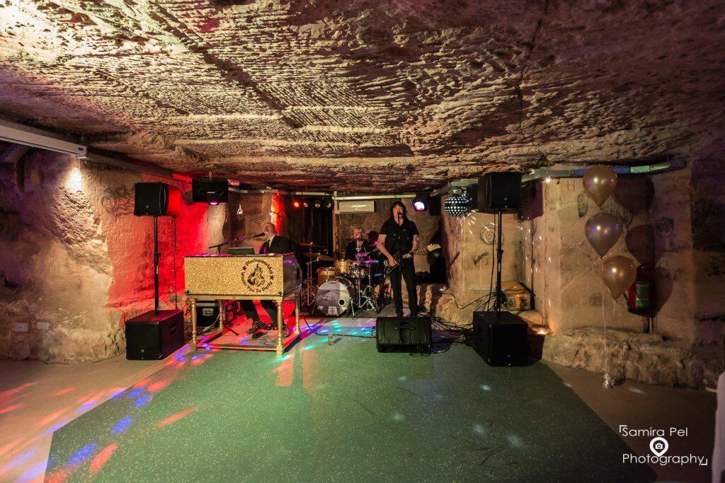 Muziekband Daelhemergroeve in Valkenburg aan den Geul