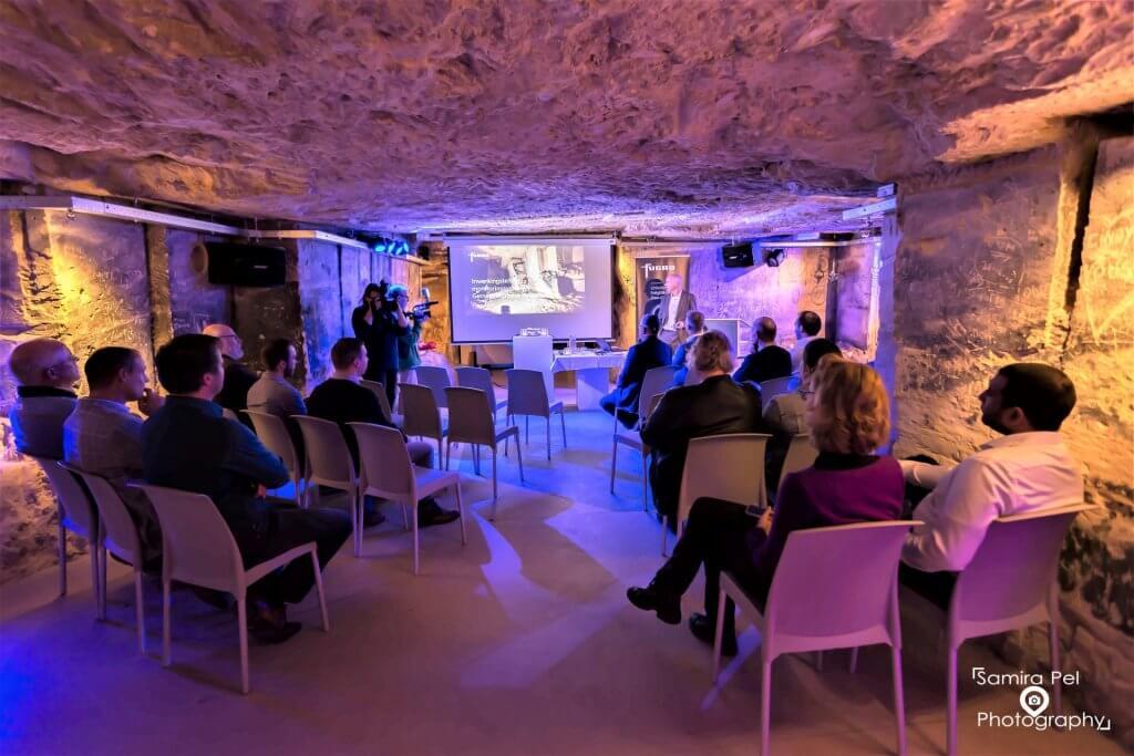 Presentation Daelhemergroeve in Valkenburg aan den Geul