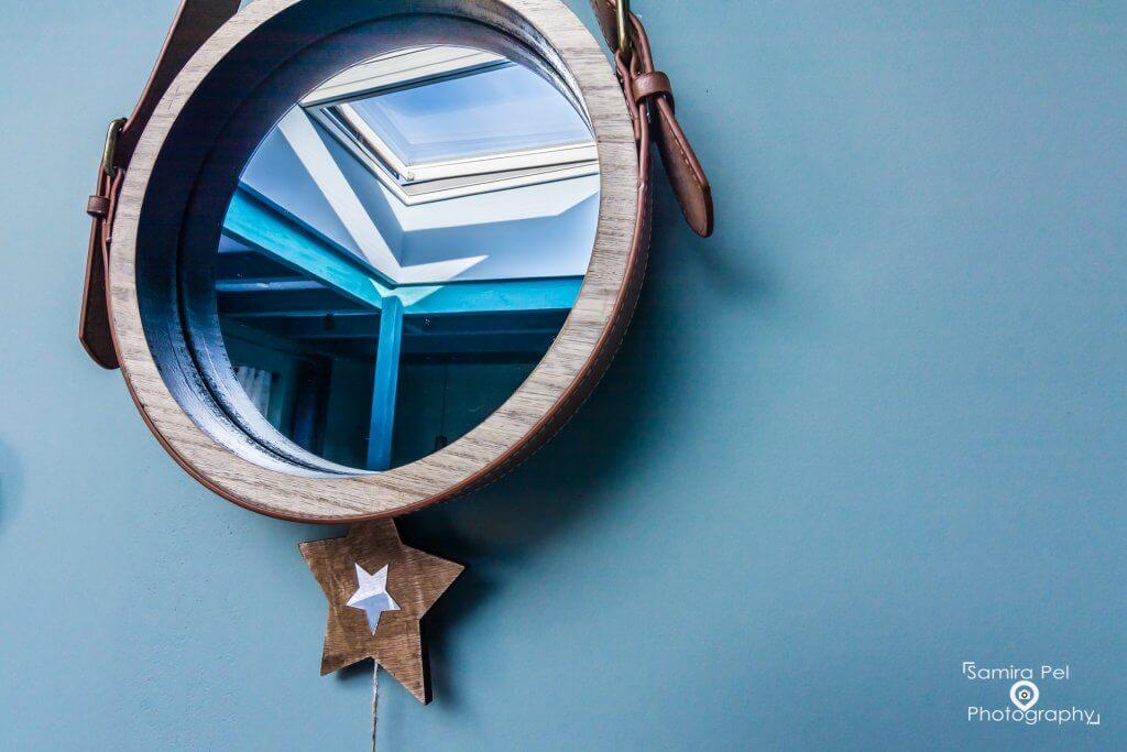 Spiegel reflectie sterrenstudio De Ster van Dwingeloo