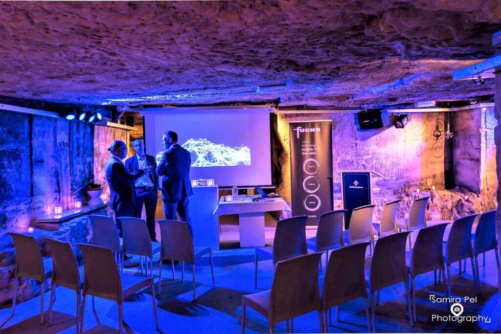 Zakelijke bijeenkomst Daelhemergroeve in Valkenburg aan den Geul